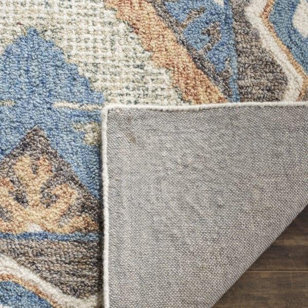 Essence 210 8' X 10' Blue Wool Rug