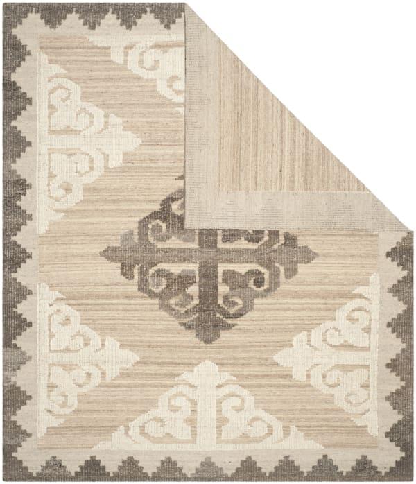 Gypsy 312 2' X 3' Brown Wool Rug