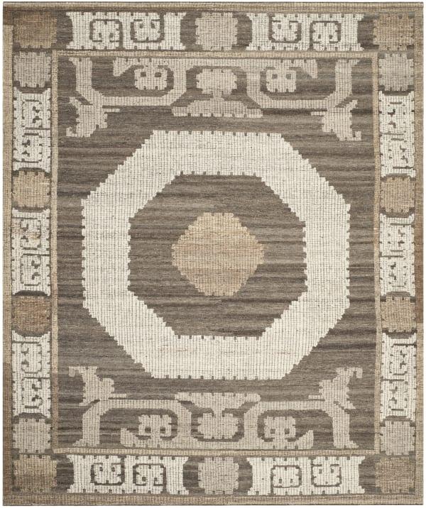 Gypsy 313 8' X 10' Ivory Wool Rug