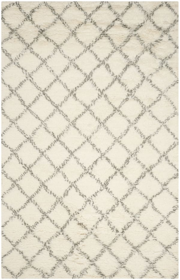 Gypsy 404 9' X 12' Ivory Wool Rug