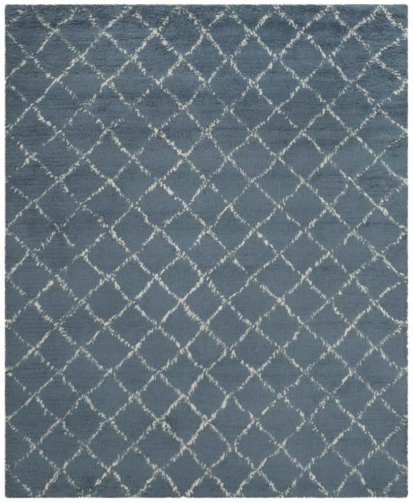Gypsy 404 8' X 10' Blue Wool Rug