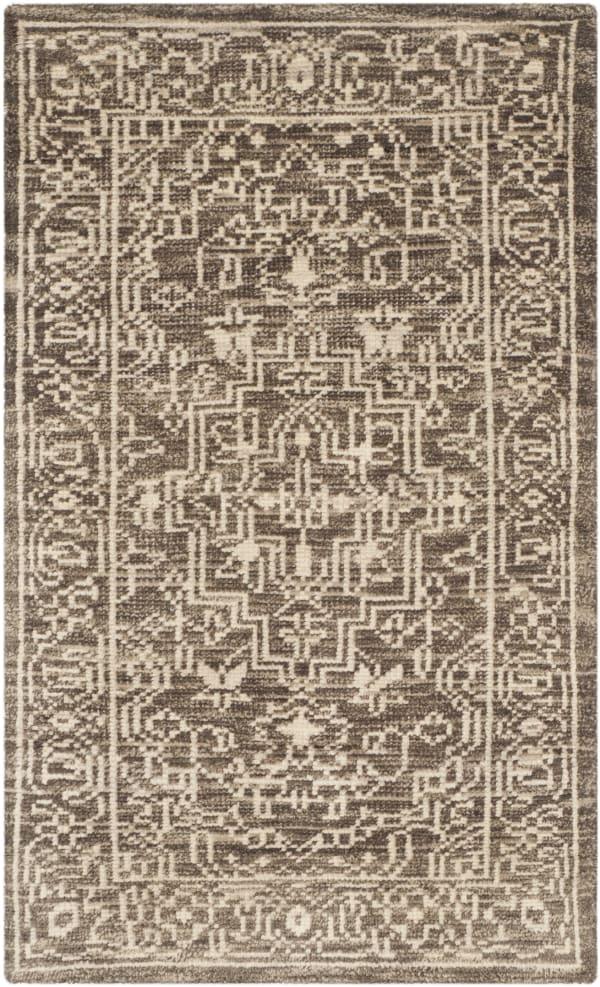 Gypsy 682 3' X 5' Brown Wool Rug