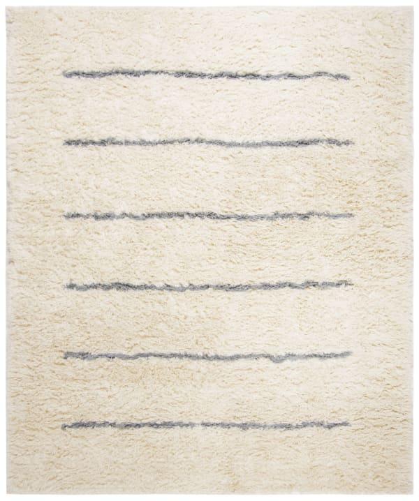 Gypsy 750 6' X 9' Ivory Wool Rug