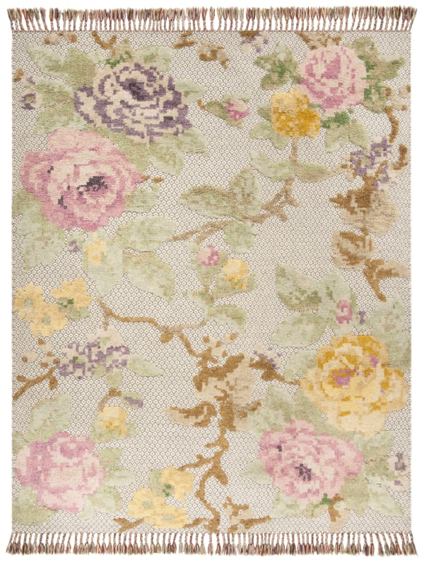 Gypsy 802 8' X 10' Pink Wool Rug