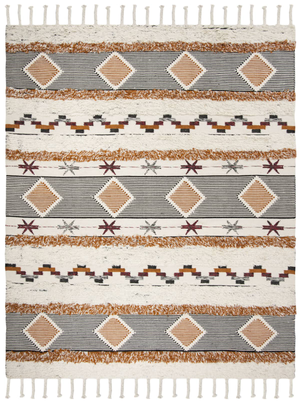 Gypsy 904 9' X 12' Ivory Wool Rug