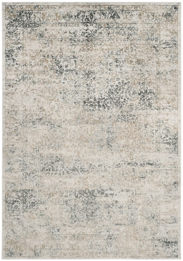 Haden 711 4' X 6' Silver Polyester Rug