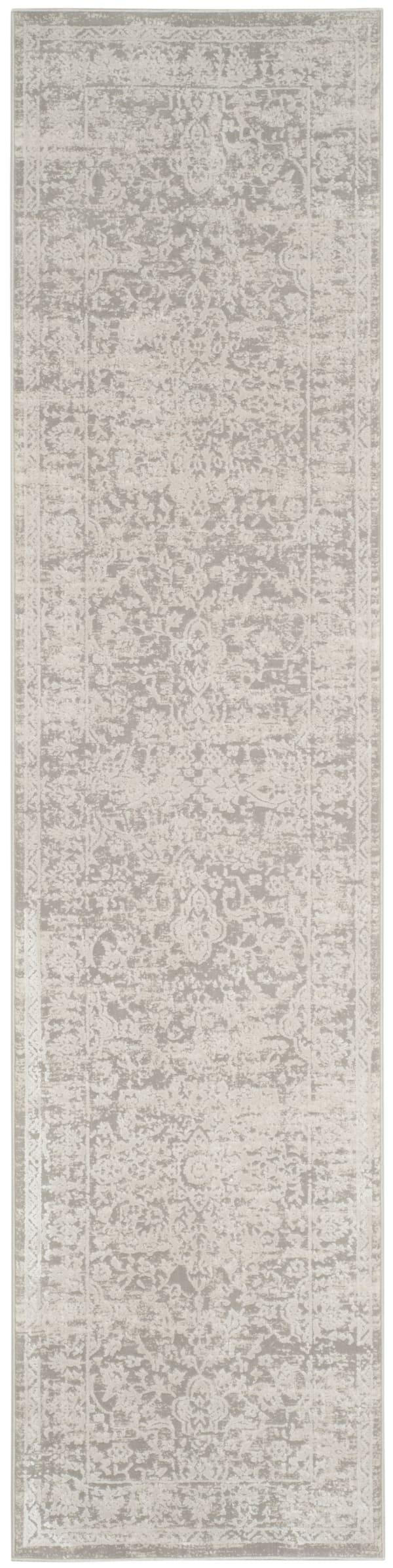 Haden 712 2' X 8' Gray Polyester Rug