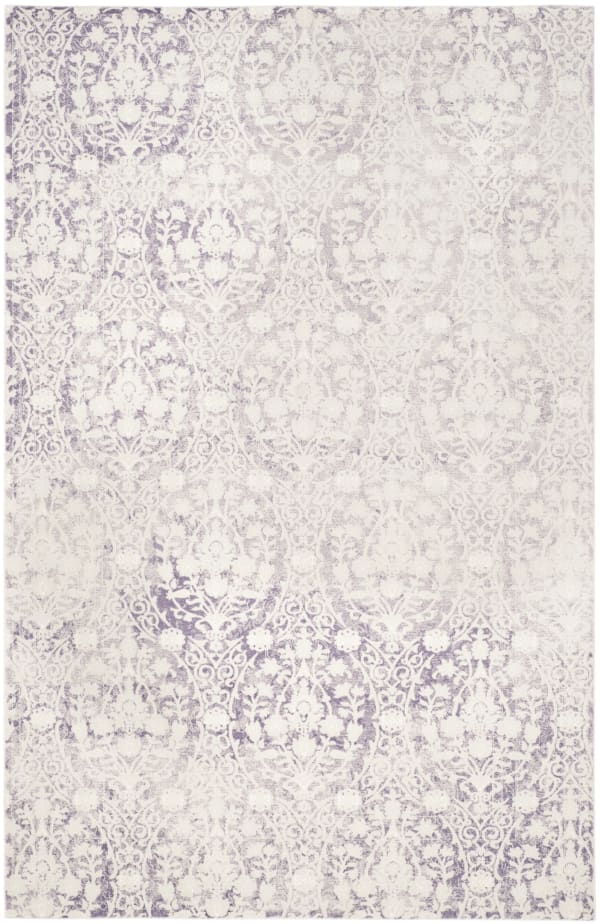 Jennifer 403 8' X 11' Purple Polypropylene Rug