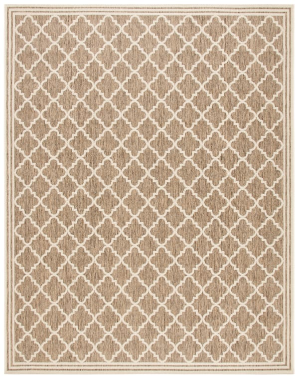 Laguna 121 8' X 10' Brown Polypropylene Rug