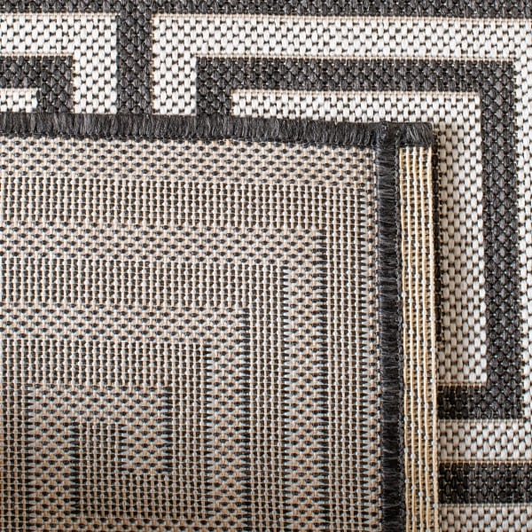 Laguna 129 3' X 5' Brown Polypropylene Rug