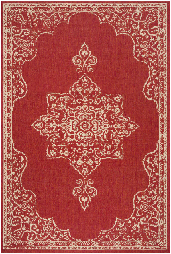 Red Polypropylene Rug 5' x 8'