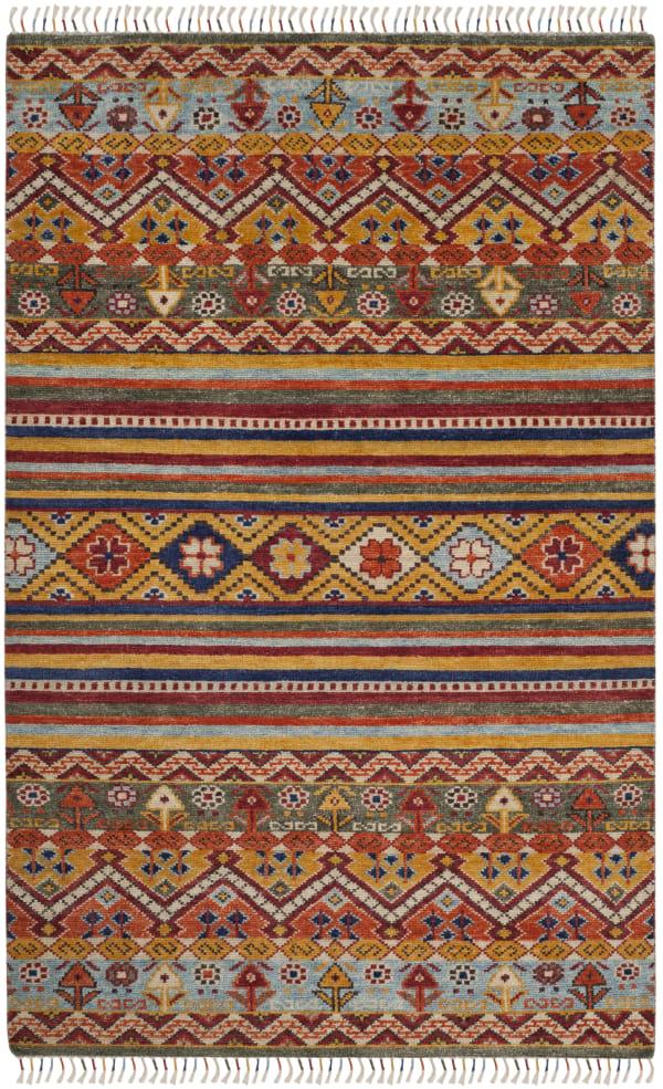 Lakota 785 6' X 9' Multicolored Wool Rug