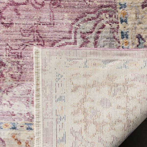 Marseilla 708 5' X 8' Pink Viscose Rug