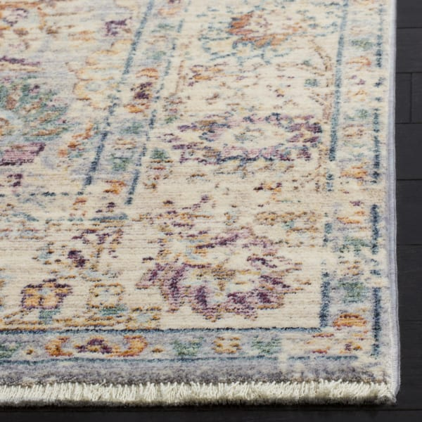 Marseilla 710 8' X 10' Gray Viscose Rug