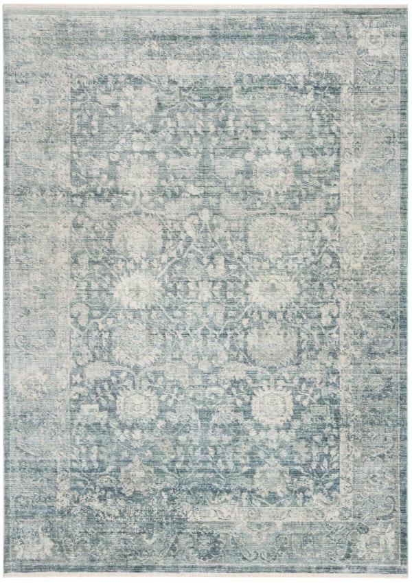 Marseilla 713 5' X 8' Blue Viscose Rug