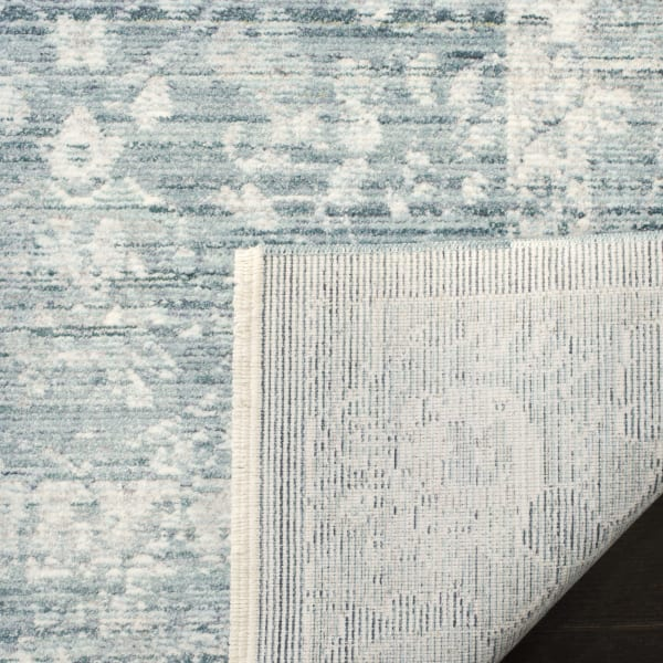 Marseilla 713 8' X 10' Blue Viscose Rug