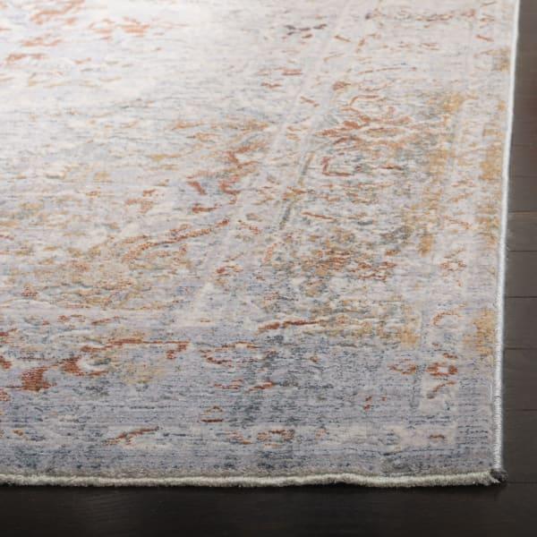 Montgomery 349 5' X 8' Gray Polyester Rug