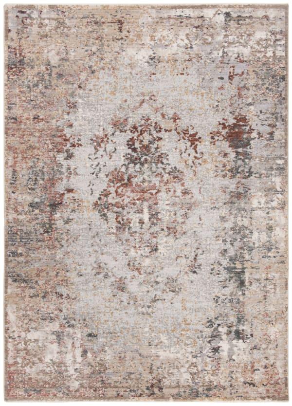 Montgomery 351 8' X 10' Gray Polyester Rug