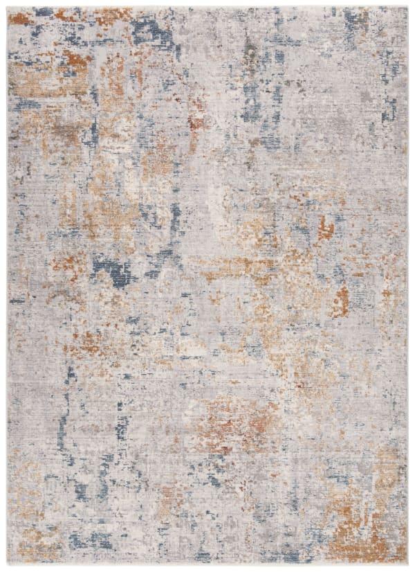 Montgomery 352 4' X 6' Gray Polyester Rug