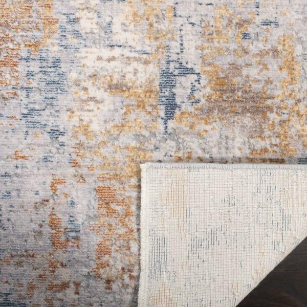 Montgomery 352 9' X 12' Gray Polyester Rug