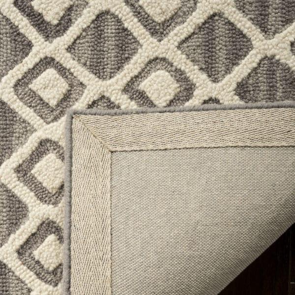 Morgan 110 5' X 8' Gray Wool Rug