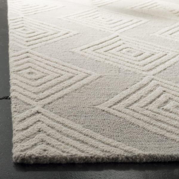 Morgan 111 8' X 10' Silver Wool Rug