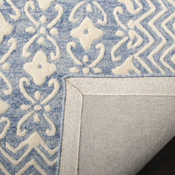 Morgan 114 8' X 10' Blue Wool Rug