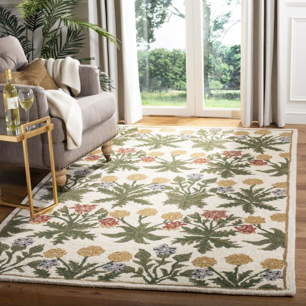 Morgan 151 5' X 8' Tan Wool Rug