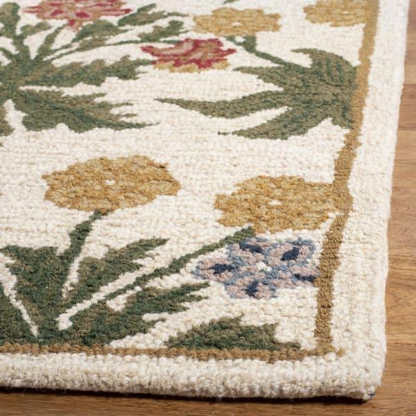 Tan Wool Rug 8' x 10'