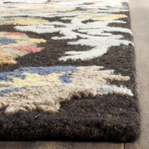 Morgan 401 5' X 8' Gray Wool Rug