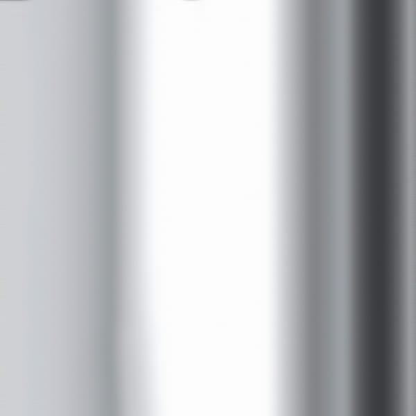 Floor Lamp in Nickel Clear Glass