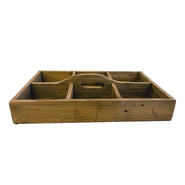 Flat Wood Caddy