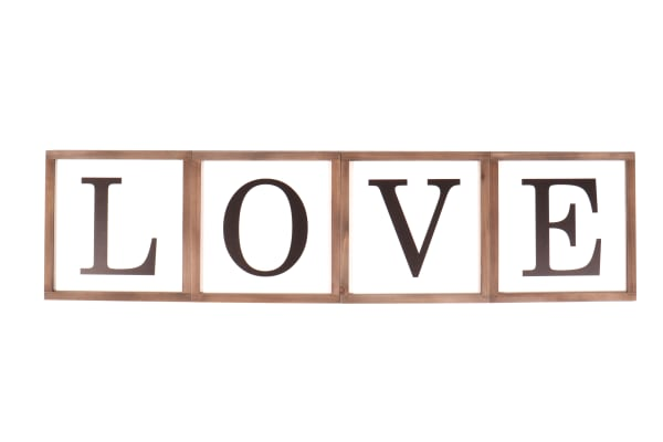 Reversible Home / Love Sign