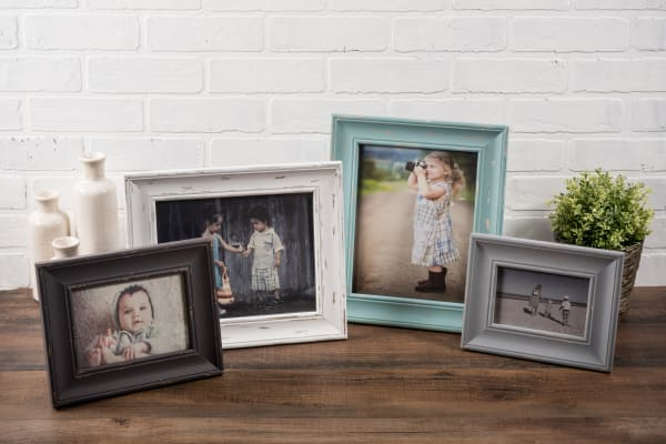 4x6 Distressed Barnwood Farmhouse Picture Frame