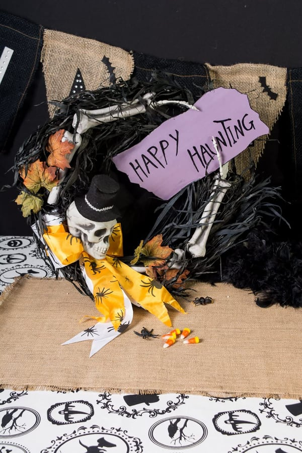 Happy Haunting Wreath