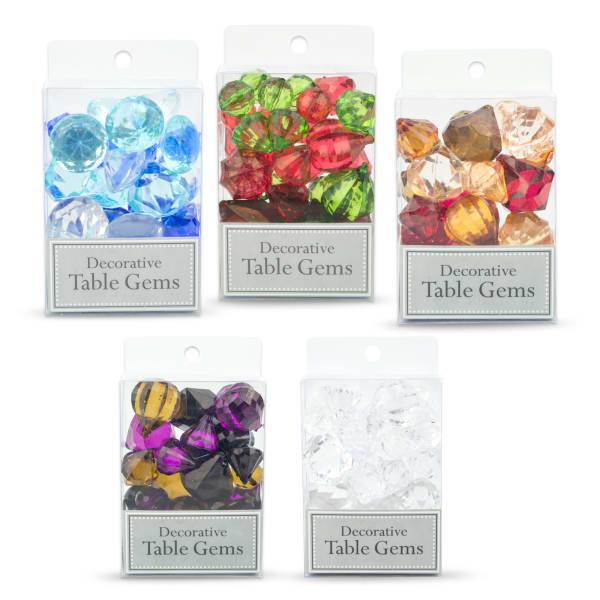 Home Decor Gems Clear