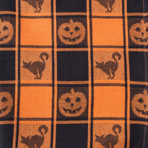 Halloween Woven Check Napkin (Set of 6)