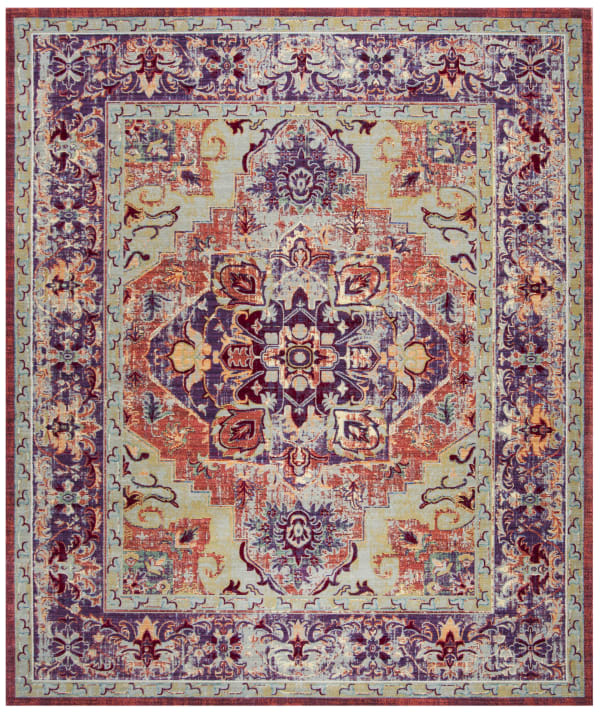 Chantal 664 9' X 12' Purple Rug