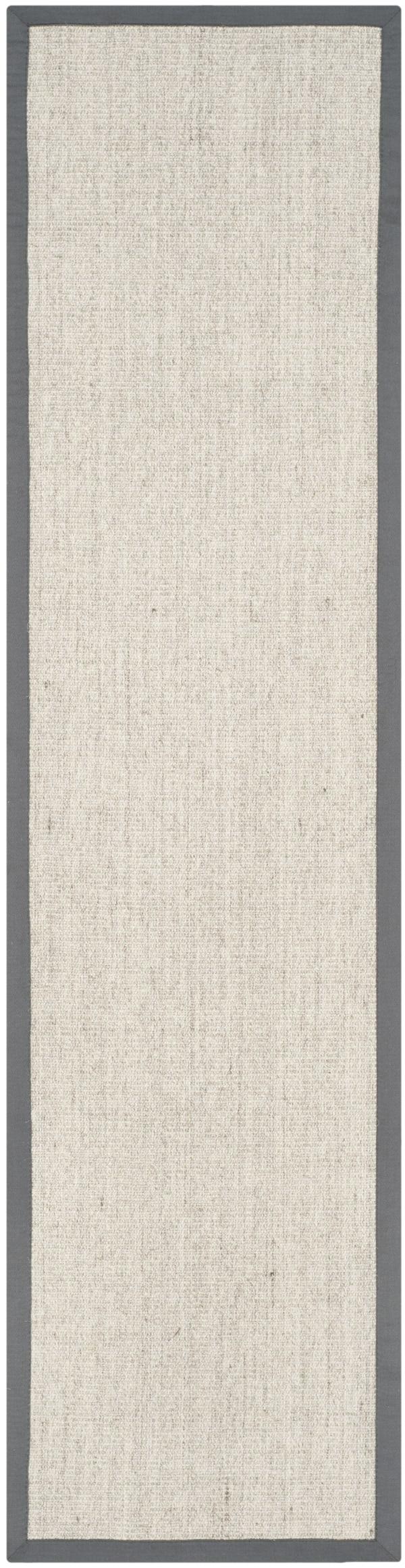 Danford 441 2' X 8' Gray Jute Rug