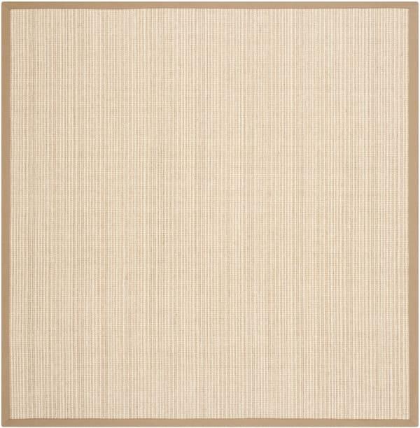 Danford 442 8' X 8' Square Tan Jute Rug
