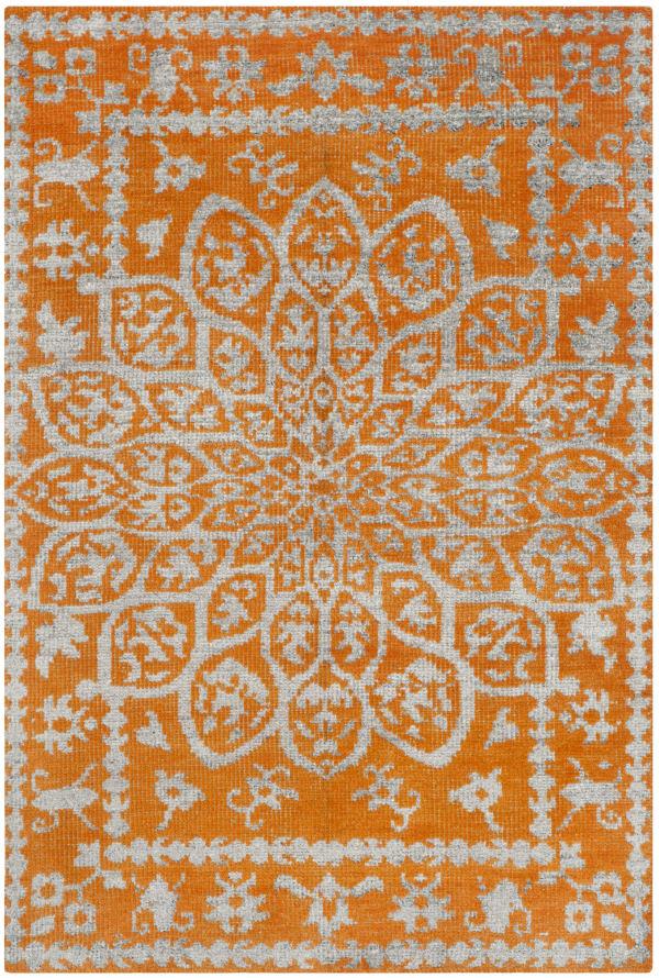 Copper Wool Rug 6' x 9'