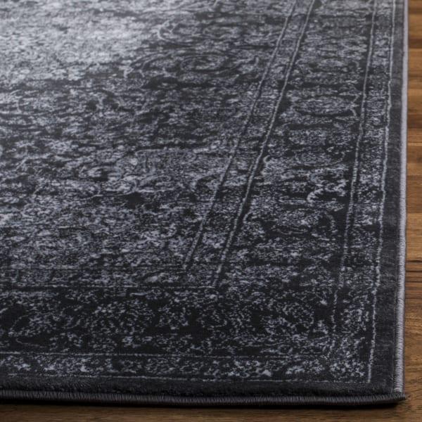 Devlin 631 3' X 5' Gray Polypropylene Rug