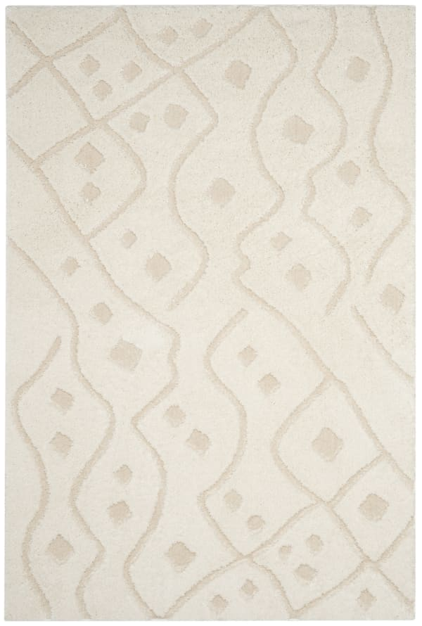 Dylan 511 4' X 6' Ivory Polyester Rug