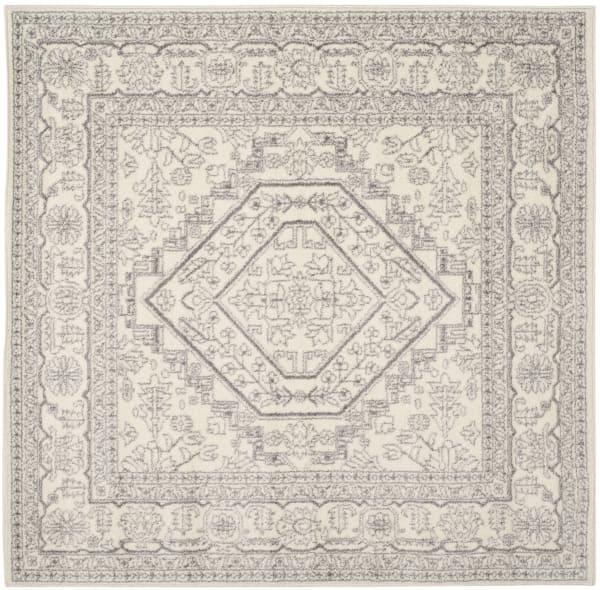 Square Ivory Rug 6' x 6'