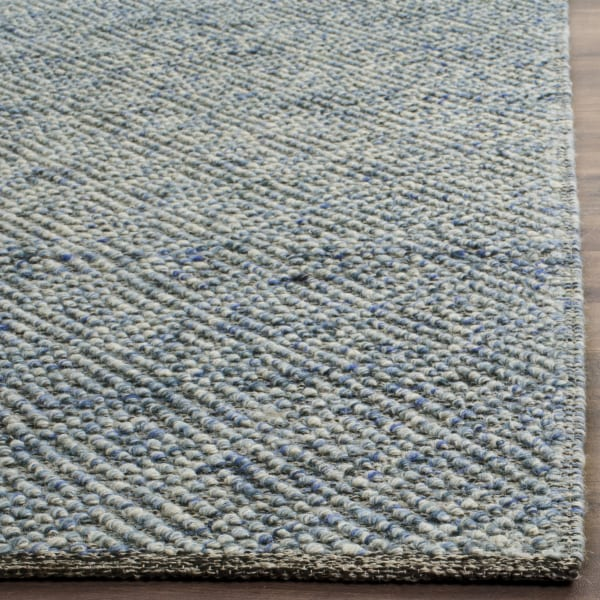 Chipley 503 6' X 6' Square Blue Wool Rug