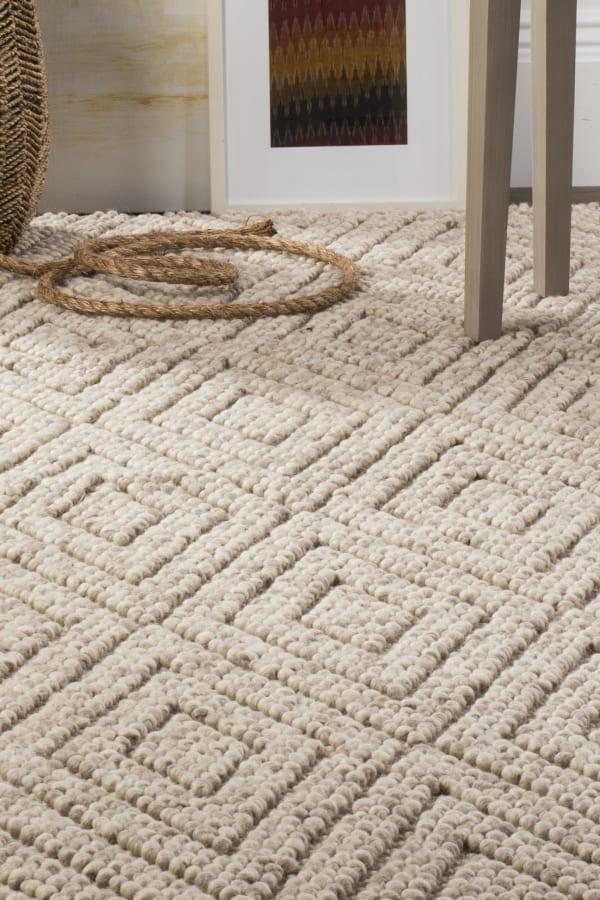 Chipley 623 6' X 9' Tan Wool Rug