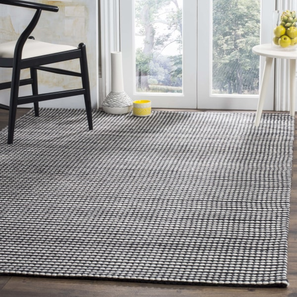 Chipley 801 6' X 6' Square Ivory Wool Rug