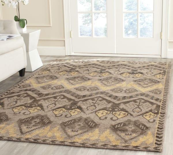 Gypsy 656 8' X 10' Gold Wool Rug