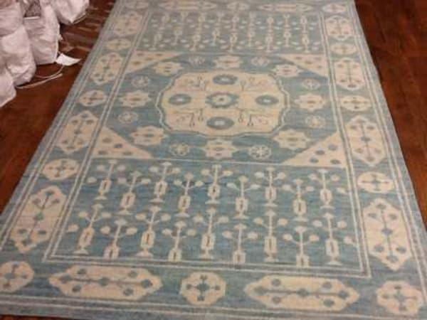 Gypsy 683 5' X 8' Blue Wool Rug