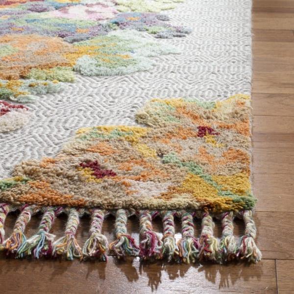 Gypsy 801 6' X 9' Orange Wool Rug